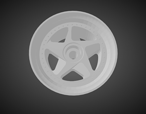 3D print model F52 348 rims for Hot Wheels