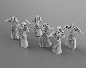 Old Dark Witch Hunters 3D print model