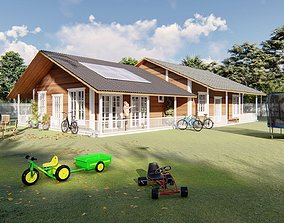 3D model Country Side House - Farm feel