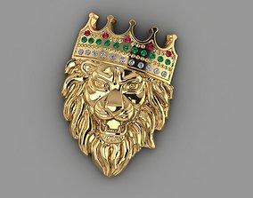 3D printable model Pendant Lion
