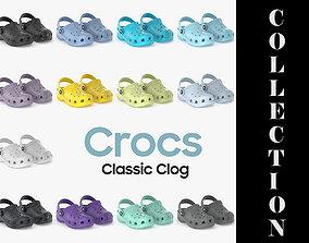 3D model Crocs Classic Clog All Colors