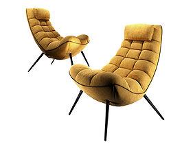 Sofa Form Armchair Lulea 3D model