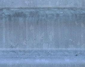 3D Metal Barrier High Resolution