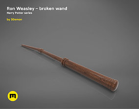 3D print model Ron Weasley broken wand - Harry Potter