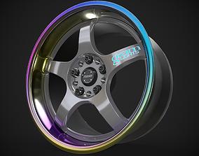 3D model Rays Gram Lights 57Pro with Titanium Lip