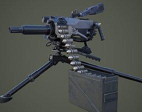 weapons 3D MK47 grenade launcher