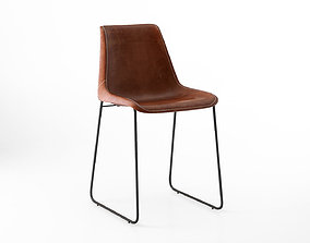 Coco Republic Drexel Dining and bar stool 3D model