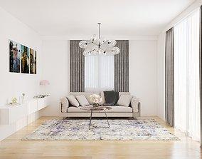 living room 3 3D