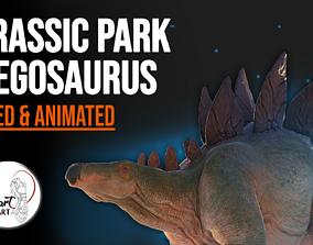 Jurassic Park Stegosaurus Blender 3D model