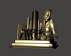 3D print model METROPOLIS movie style