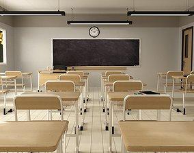 academy Classroom 3D model