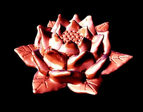 Lotus Flower 3D print model 3dprintable