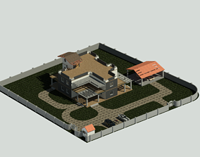 Farm house project 3D