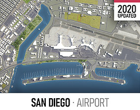 San Diego International Airport - SAN 3D model