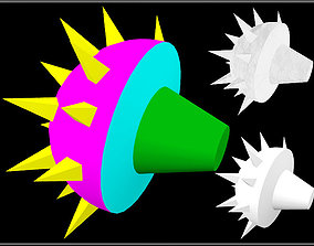 3D model Spiked Round Tail