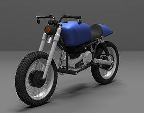 Caferacer bike 3D