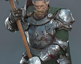 Guerrier Orc 3d print Figurine horde