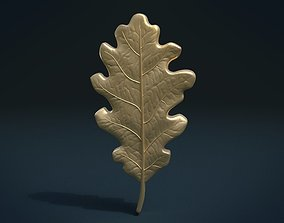 Oak leaf 3D printable model