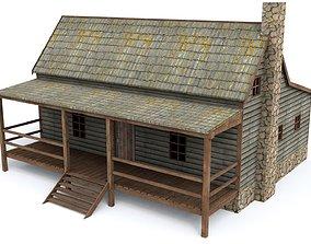 3D asset Village Home
