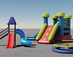 3 Rides 3D models park