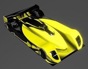 3D Super Sport Car Concept