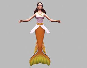 Mermaid 3D asset realtime