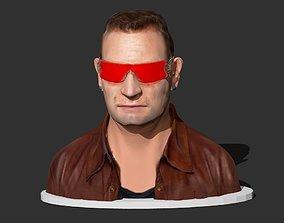 Bono Character 3D print model