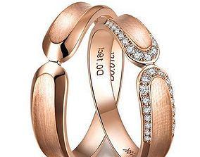 Pre-engagement ring 3D print model