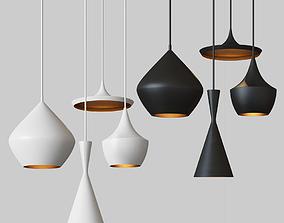 Beat Light chandelier Set Tom Dixon Loft-Concept 3D 2