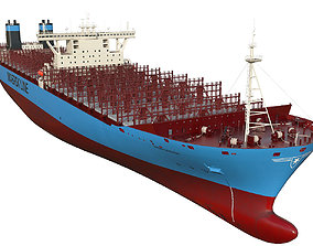 Maersk Triple E 1st generation 399m 3D model maersk