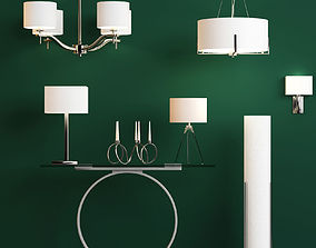 Collection of fixtures Next 3D model