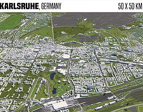 3D model Karlsruhe