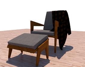 3D chair design armchair