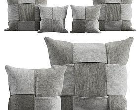 Cushions set 3D model