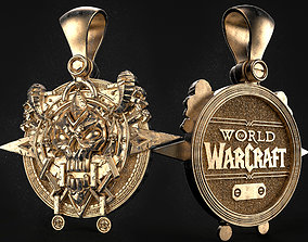 World of Warcraft Death knight crest 3D print model