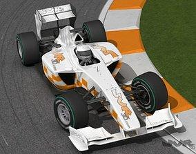 3D model Generic F1 2009 - 2010