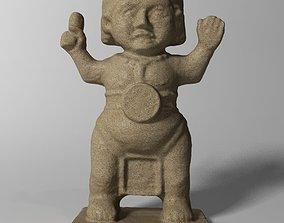 Maya Statuette 3D
