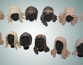 Base Haircuts 11-16 3D model