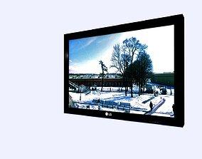 3D model LG TV