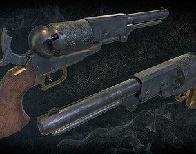 3D model Colt Walker Dragoon