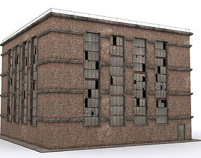 Old brick workshop 3D asset