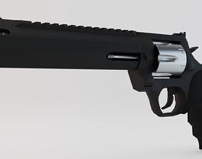 3D asset Taurus Raging Hunter Magnum