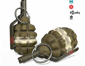 F1 Hand Grenade 3D model