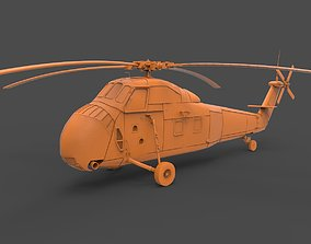 3D print model Sikorsky H-34
