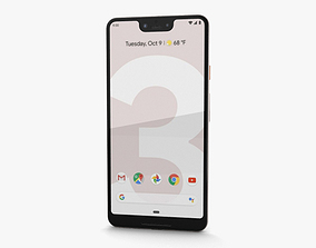 Google Pixel 3 XL Not Pink 3D model