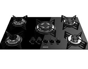 3D model Cooktop Suggar 5 Burners FG5305VP