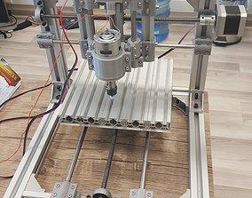 MINI CNC ROUTER MACHINE 3D printable model