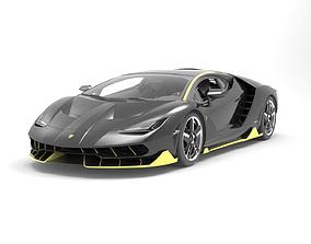 car-wheel Lamborghini centenario 3d model