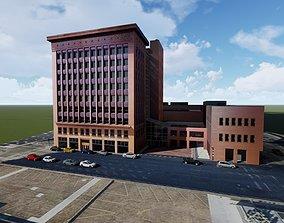 3D model The Wainwright Building