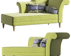 Corsica Green Daybed by Dream Manufacture 3D model